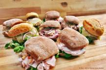 Altberliner Sandwiches (Kasseler, Bulette, Eisbein)