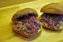 Wildschwein-Sandwich