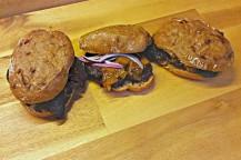 Blutwurst-Sandwich