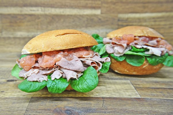 Rinderbrust Sandwich web