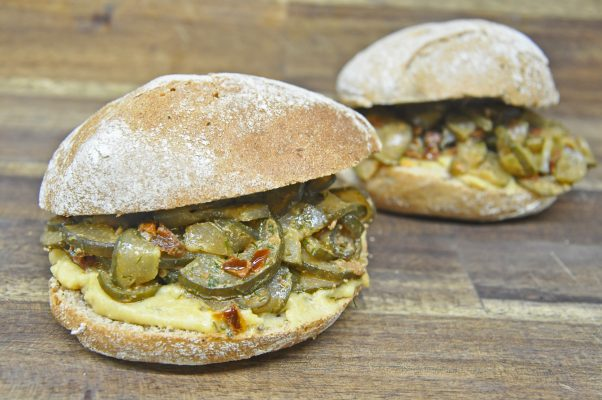 Rixdorfer Schmorgurken Sandwich