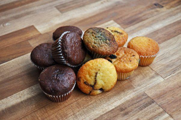Mini-Muffins von Pannek seine Budike Catering