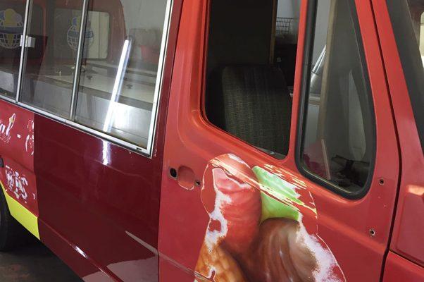 Pannek seine Budike - Foodtruck - Eisbeinwagen - Entstehung - 2
