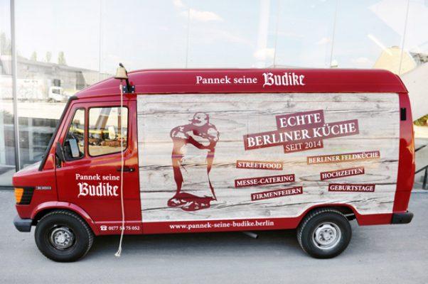 Pannek seine Budike - Foodtruck - Eisbeinwagen - fertig - 4