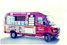 Foodtruck Pannek seine Budike Catering Mobile
