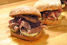Gänsekeulen-Sandwich