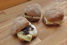 Harzer-Käse-Sandwiches