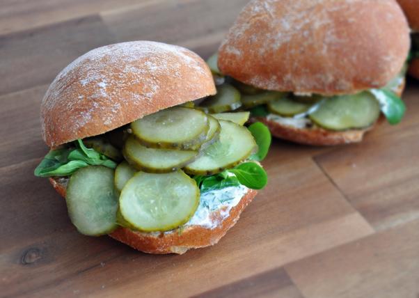 Spreewälder-Gurken-Sandwich